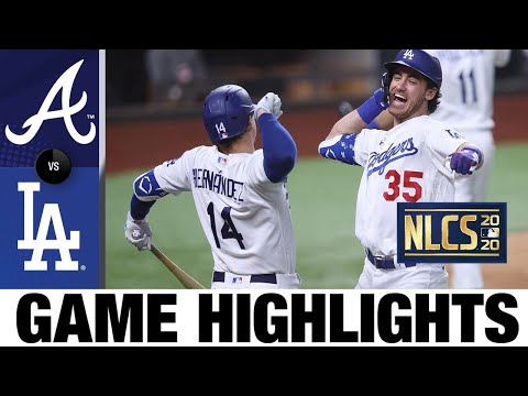 Bellinger hits go-ahead HR as Dodgers clinch World Series berth!   Braves-Dodgers Game 7 Highlights