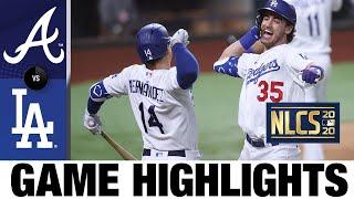 تحميل و مشاهدة Bellinger hits go-ahead HR as Dodgers clinch World Series berth! | Braves-Dodgers Game 7 Highlights MP3