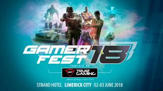 GamerFest looks to repeat the success of 2017, come to Limerick in June 2018