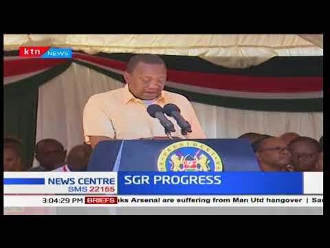 President Uhuru Kenyatta launches inland container depot