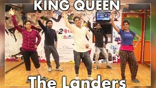 The Landers  King Queen  Bhangra Steps  Punjabi Song 2016