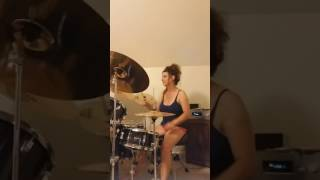 AC/DC Satellite Blues ~ Drum Cover by Denise