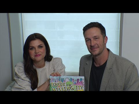 "Tiffani Amber Thiessen and husband Brady Smith reveal what inspired their new children's book, ""You're Missing It."" (May 9)"