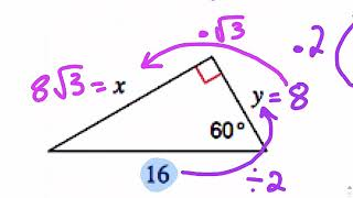 RT Special Right Triangles Review
