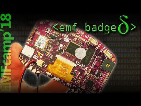GSM Phone on a Conference Badge - Computerphile
