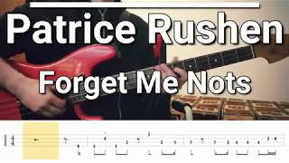 Patrice Rushen   Forget Me Nots (Bass Cover) TABS