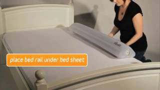 The Shrunks Travel Inflatable Bed Rail - How to Inflate and Deflate your Bed Rail