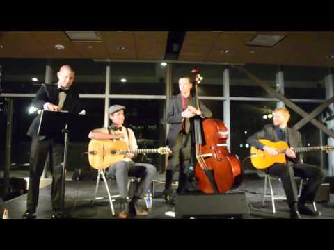 Excellence Concerts : Hot Club of Zion,  Clip 1,  Gallivan Center, Salt Lake City