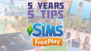 Sims FreePlay - Top 5 Tips for New Players Getting Started!