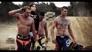 ELLE MAGAZINE - High End Fashion Motocross Shoot Ft Matt Moss, Luke McNeill & Brock Mcleary