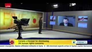 Canada's UN Ambassador Applying A Double Standard on Human Rights - PRESS TV