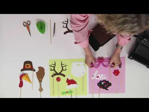 DIY Holiday Photo Props | Ellison Education Lesson Plan #12144