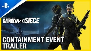 PlayStation Rainbow Six Siege - Containment Event Trailer | PS4 anuncio