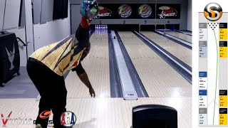 Storm Parallax Bowling Ball Review W/ Specto