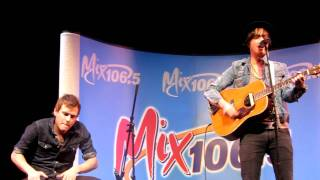 """Parachute """"Forever And Always"""" Acoustic Live in Campbell"""