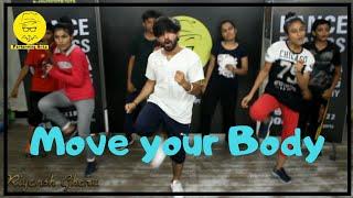 Move Your Body | Johnny Gaddaar | HardKaur |New Routine