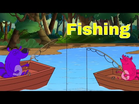 Pyaar Mohabbat Happy Lucky - Ep.75 | Fishing | Hindi Animated Cartoon Show | ZeeQ