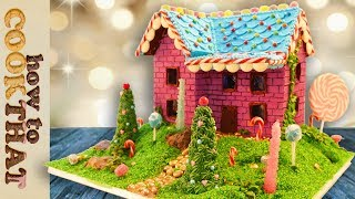 My Gingerbread House Recipe 2017   How To Cook That Ann Reardon