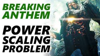 BREAKING ANTHEM - The Power Scaling Problem, HULK SMASH Build, Anthem Bosses don't Drop Legendaries?