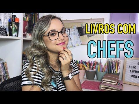 LIVROS COM CHEFS