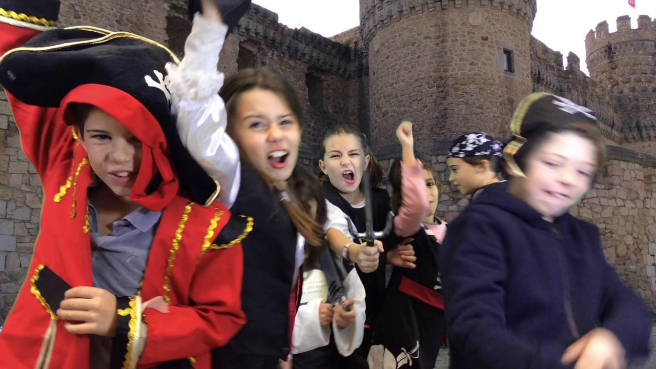 Piratas y Ninjas - detrás de las cámaras - taller de cine para niños Kids in black