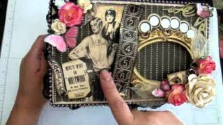 Graphic 45 Curtain Call - Altered Cigar Box For Jades SSCBS