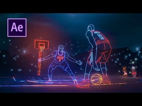 After Effects Tutorial – NBA Lights – EASY!