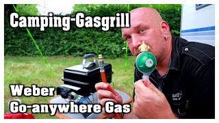 Camping-Gasgrill | Weber Go-anywhere Gas | Hobbyfamilie