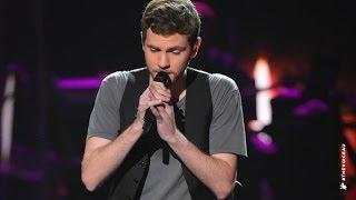Robbie Balmer sings Burn For You   The Voice Australia 2014
