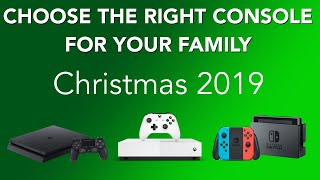 How to choose the right video game console for your family this Christmas 2019