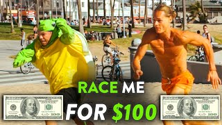 Beat Me In a Race, Win $100 vs. Strangers at Venice Beach