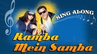 Ramba Mein Samba - Full Song with Lyrics - Shirin Farhad Ki