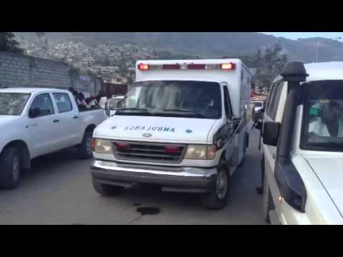 EMS in Haiti by Ricardo bully.
