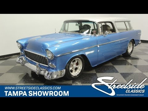 Video of Classic 1955 Chevrolet Nomad located in Lutz Florida - $64,995.00 Offered by Streetside Classics - Tampa - QA9W