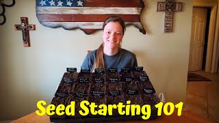 How To Start Peppers From Seed   Indoor Seed Starting   Gardening 101