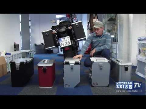 Motorrad Alukoffer von G+G Gepäcksysteme - aus Folge 3 von Motorradreise.TV