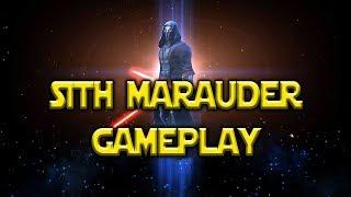 Sith Marauder Gameplay Darth Vader Lead | Star Wars: Galaxy Of Heroes - SWGOH
