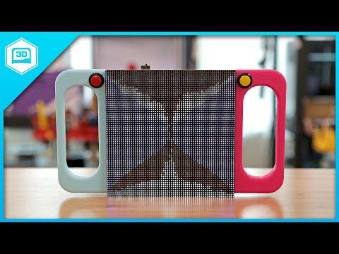 BIG LED Sand Toy – Raspberry Pi RGB LED Matrix - смотреть