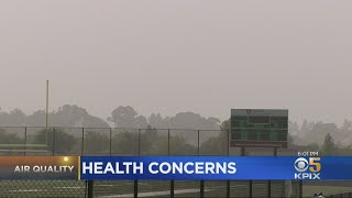 Health Concerns Abound With Bay Area's Poor Air Quality