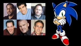 Comparing The Voices - Sonic The Hedgehog