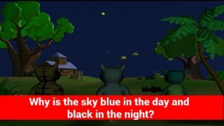 Why is the sky blue in day and black in night? - Interesting facts about nature