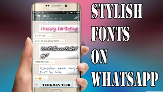 How To Add Style To Fonts In Whatsapp Updated !
