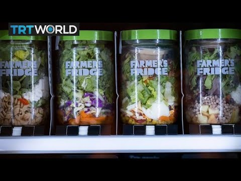 , title : 'Food company sells healthy meals from vending machines | Money Talks