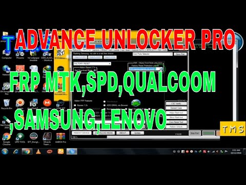 Advance Unlocker Pro Remove Frp Samsung Mtk Spd Lenovo Qualcomm