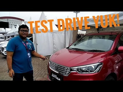 All New Suzuki Ertiga 2018 Test Drive Indonesia - IIMS 2018