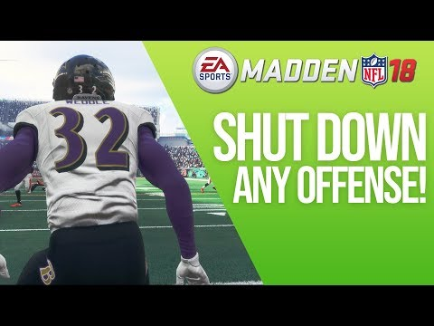 Shutdown Any Offense In Madden 18 With This Defense!