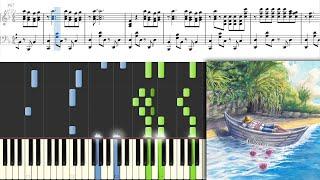 【フル楽譜あり】老人と海 - ヨルシカ ピアノアレンジ | The Old Man and the Sea · Yorushika (sheet music)