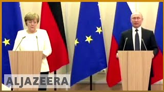 🇩🇪 🇷🇺 Putin to have talks with Angela Merkel in Germany | Al Jazeera English