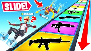 SLIDING *ONLY* For LOOT Game Mode in Fortnite Battle Royale