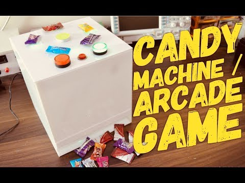 DIY Electronic Candy Vending Machine||Arcade game